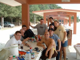 Essex picnic in Okinawa