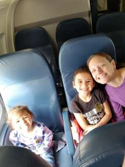 Girls on plane