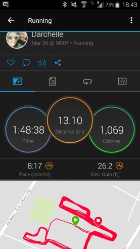 half marathon map
