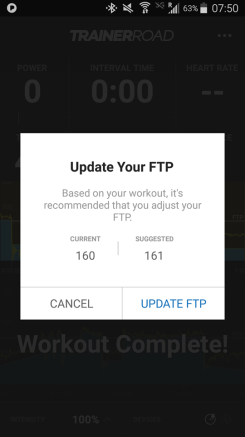 increase of FTP