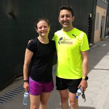 Turkish half marathon