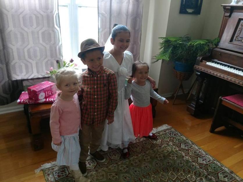 All the kids 1st communion