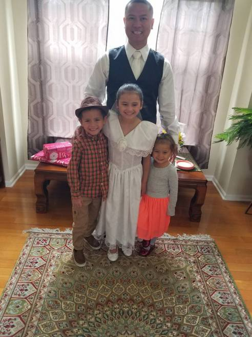 first communion family