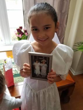 same dress 1st communion