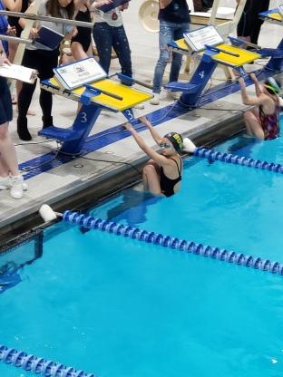 timyra swimming
